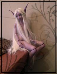 Elf of the Night - doll by TheMushroomPeddler