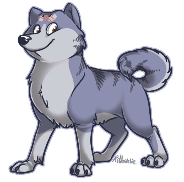 Silver Fang by Ribbedebie