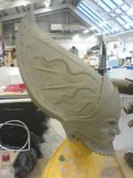 My new sculpt, side view by danielokeefe