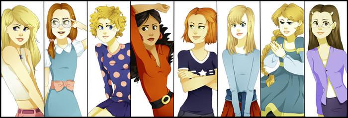 Disney Girls 2 by xXischaXx