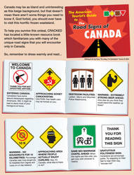 'Canadian Road Signs' page 1 by Huwman