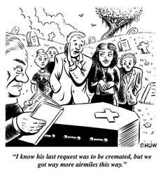 Gag Cartoon 01 by Huwman