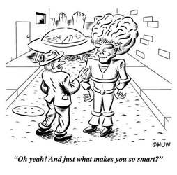 Gag Cartoon 02 by Huwman
