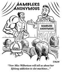 Gag Cartoon 03 by Huwman