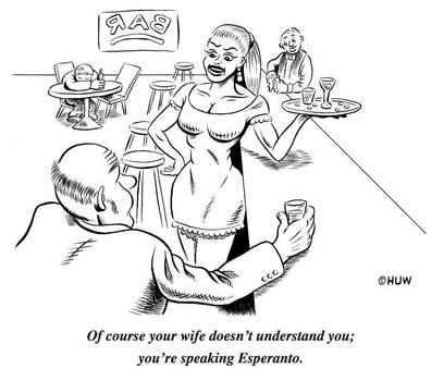 Gag Cartoon 05 by Huwman