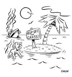 Gag Cartoon 07 by Huwman