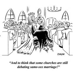 Gag Cartoon 12 by Huwman