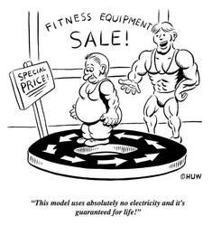 Gag Cartoon 17 by Huwman