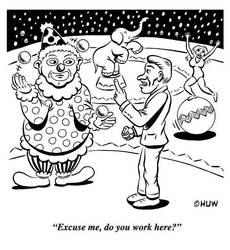 Gag Cartoon 18 by Huwman