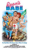 RYAN'S BABE Movie Poster Art by Huwman