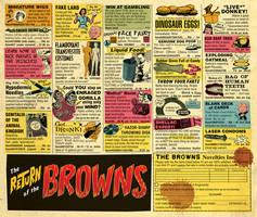 Old Comic Book Ads Parody (Browns album) by Huwman