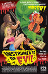 'Clean' Version of Instruments of Evil Poster by Huwman