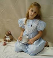 Blue Dress 8 by DarkMaiden-Stock