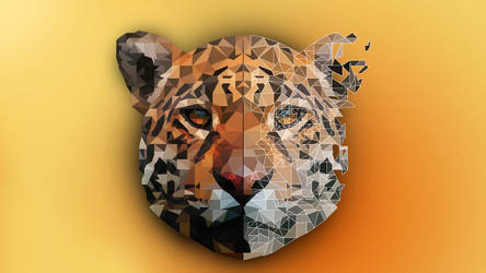 Low-Poly-Leopard by Box-of-Toys