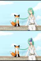 Kia loves StupidFox by Celia-Alva