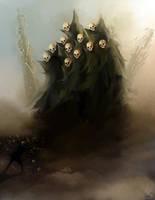 Screaming Skulls by Sanskarans