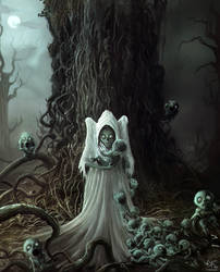 Mother of ghouls by Sanskarans