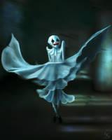 Blue dancer by Sanskarans
