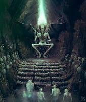 Alien God by Sanskarans