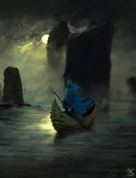 Lonely sailor by Sanskarans