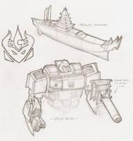 Megatron- Avatar Style by z00tz00t
