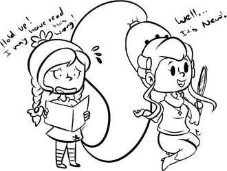 A Good Hair Day? (Oc Fan Sketch) by Ultimateportalmaster