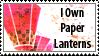 Paper Lanterns Stamp by Pockaru
