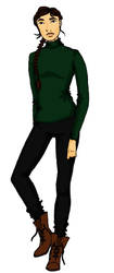 Katniss by Josiebeebee