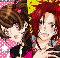yusuke y ema! by IAMeikoD