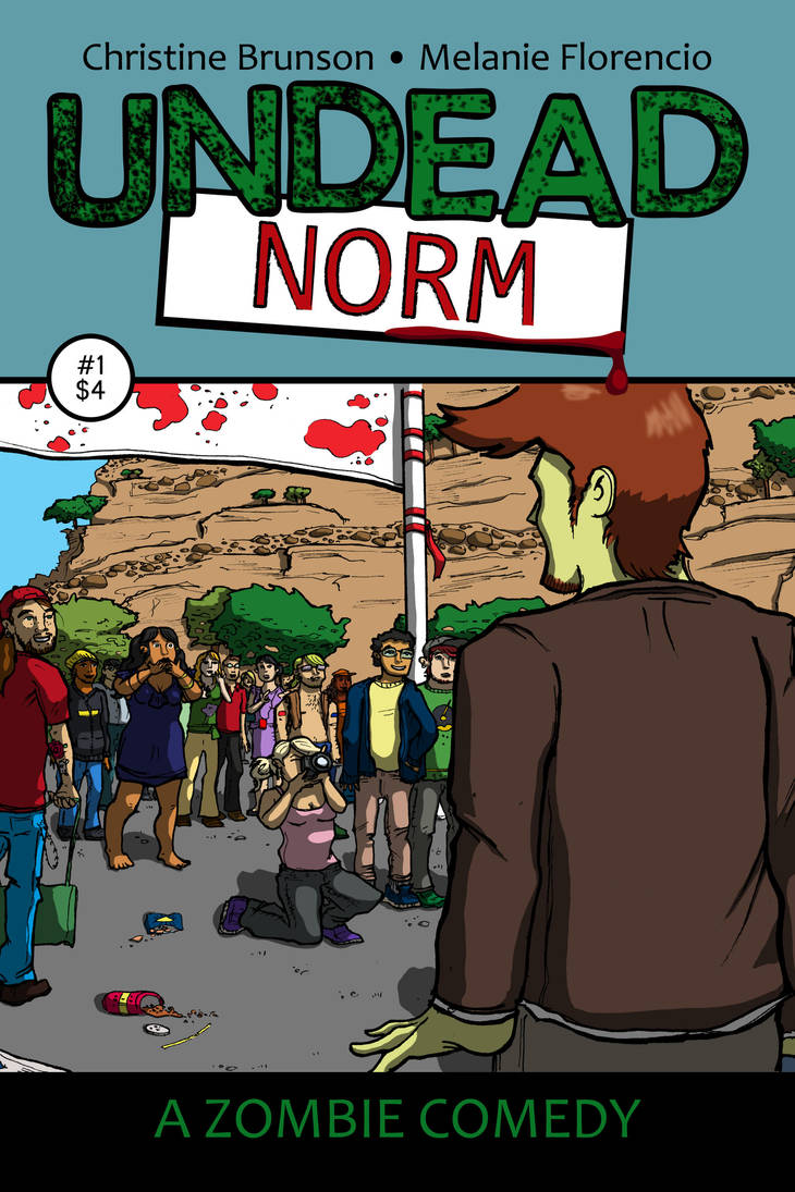 Undead Norm #1 Cover Art by StineTheKitty