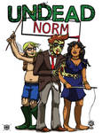 Undead Norm - RoundCon 2012 Print Preview by StineTheKitty