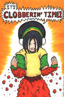 Toph - It's Clobberin' Time by StineTheKitty