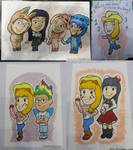 MGA Con 2014 Commissions by StineTheKitty