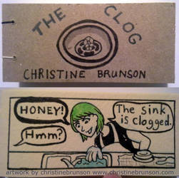 The Clog: Cover + Page 1 by StineTheKitty