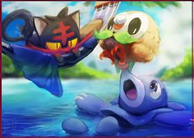 Speedpaint - little pokemon by 3-i