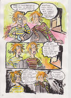 Dark times for Weasley Twins.. by SnappySnape