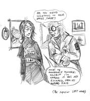 Snape is hiding something all right by SnappySnape