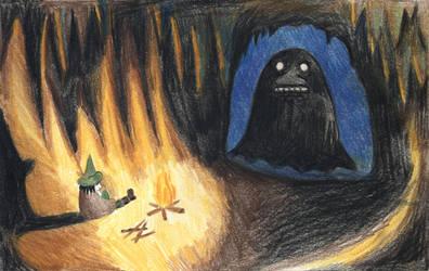 Snufkin's Last Advenure by kot-samolet