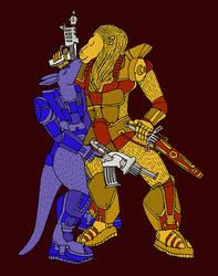 Zverobot (BattleBeasts). A kiss on the battlefield by kot-samolet