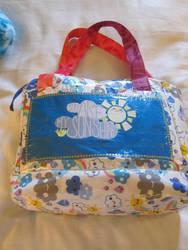 Sunshine laptop bag by chibialex