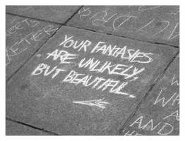 Chalk Message by carrotrope