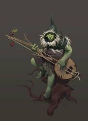Forest Troll by marmottart