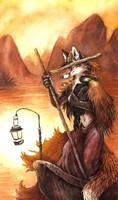 Fisher Fox by kenket
