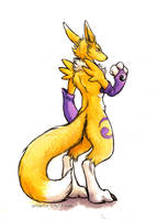 Renamon by kenket