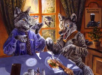 Werewolves of London by kenket