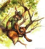 Disney - Robin Hood by kenket