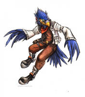 Falco Lombardi by kenket