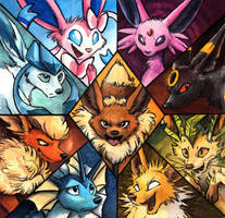 Team Eevee by kenket
