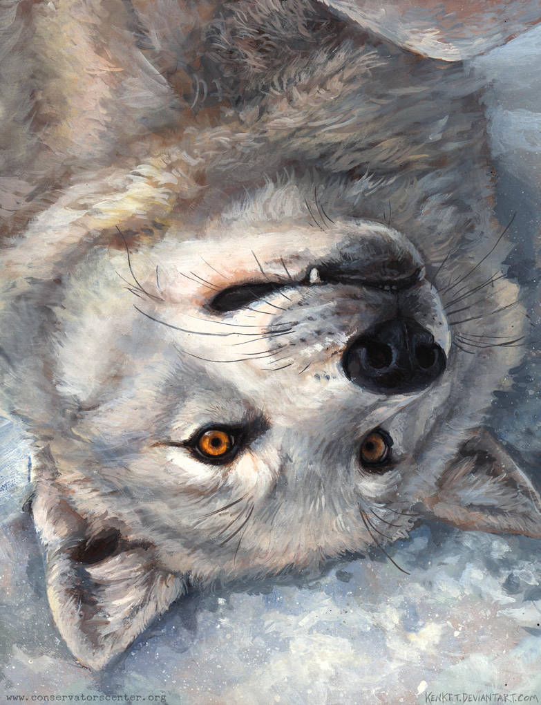 Wolf Flail by kenket