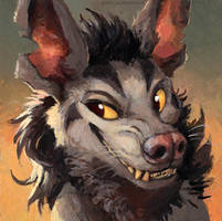 Mightyena by kenket